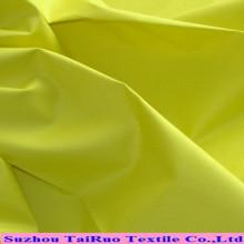 Das preiswerteste Pfirsich-Haut-Polyester-Ebene gefärbtes Microfiber Gewebe