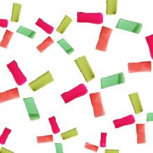 Vente en gros glissement de papier de soie de confettis de lumière UV pour la partie de club de nuit, la barre et l'effet d'étape