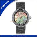 Populäre heiße Verkaufs-Damen arbeiten Quarz-Armbanduhr Psd-2364 um