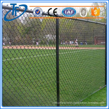 High quality9 gauge chain link fence , 2.5x100m chain link fence mesh