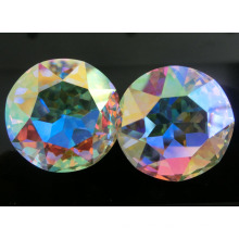 Ab Color Round Crystal Stone for Jewelry