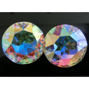 AB Цвет Кристалл круглый камень для ювелирных изделий