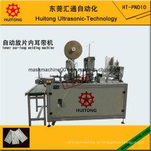 Máquina de soldadura de alimentação automática interna ultra-sônica de Earloop