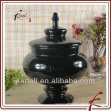Bouteille en céramique couleur noire TGD103-9H