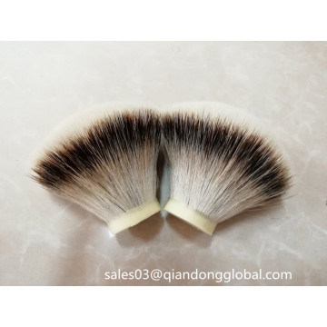 مروحة الشكل Silvertip Badger Knots