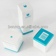 Cajas de empaquetado de papel cosmético del fabricante de China y cajas de papel cosméticas de la promoción de encargo