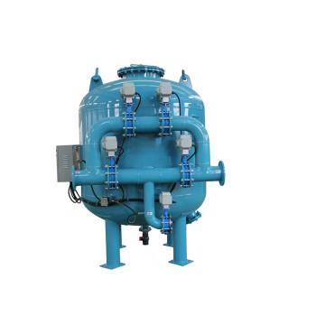 Filtre rapide de sable rapide de filtration de flux latéral