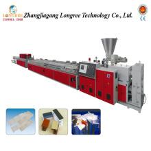 Ligne en plastique d'extrusion de plafond de PVC / chaîne de production de plafond de PVC / extrudeuse de plafond de PVC