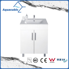 Modern Bathroom Vanity Cabinet in White (AC9060B)