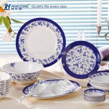 28pcs Vente en gros en céramique en porcelaine Fine Bone China Dinnerware Set
