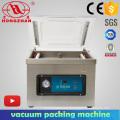 Máquina de vacío automática solo compartimiento bolsa para envasado de alimentos