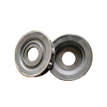 Customize high quality grey iron casting steel plate chain sprocket wheel for sale