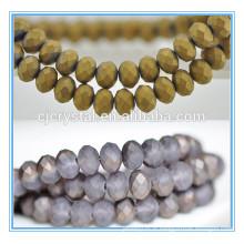 Billes de rondelle de nouvelles couleurs, marché des perles de yiwu