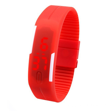 Kids Casual Silicone LED Digital Watch