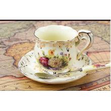 Topo grau de chá de cerâmica China Bone para venda