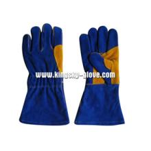 Luva de trabalho de solda Premium Split Leather - 6512