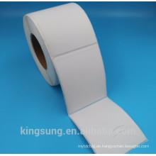 qualitativ hochwertige Thermopapierrolle Etikettenaufkleber Hersteller