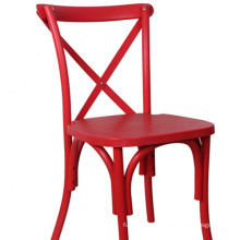 Red Crossback Chair