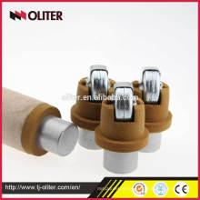 immersion hot sell oliter brand liquid steel sampler