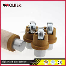 Misturador de aço líquido da marca oliter de venda quente de imersão