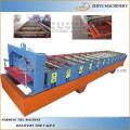 Folha de Telha Telha Folha de Folha de Papel Ondulado Formando Máquina de Fabricação / Cor Painel de Telhado de Aço Formando Linha
