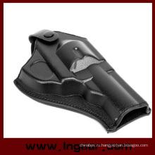 Тактические армии силы кожи револьвер Пистолет кобуры кожаные кобура