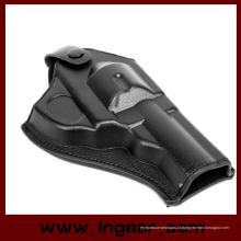 Tático do exército força couro Revolver pistola coldre (curto)