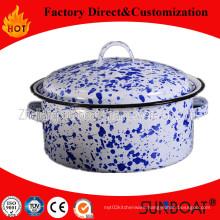 Sunboat 3qt Enamel Pot /Saucepan /Hot Pot Mini Pot