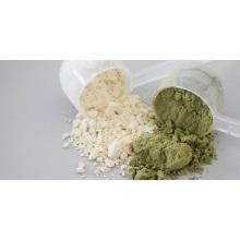 Polvo de proteína de semilla de cáñamo orgánico
