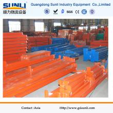 Vigas de rack de aço inoxidável Q235B laranja