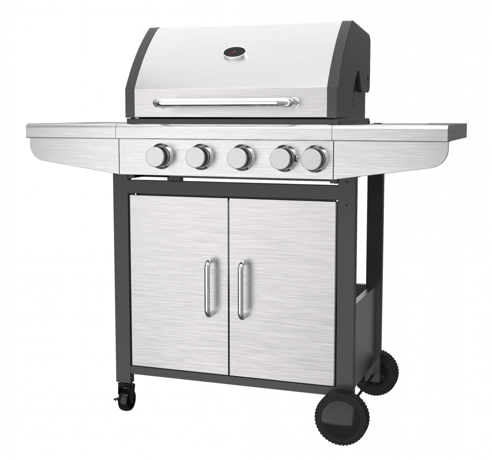 4 Burner Stainless Steel Gas Barbecue