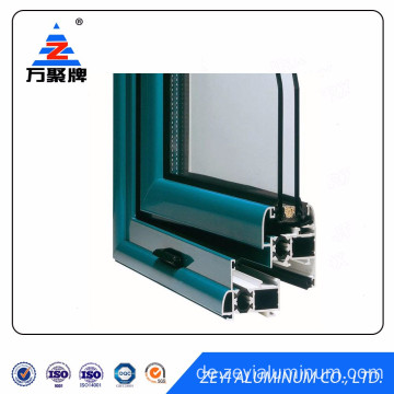 6000 Series standard aluminum extrusions for window