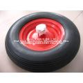 "4.80/4.00-8"" Flat Free Contractor Wheelbarrow Tire"