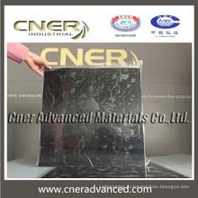 Чистый углеродный материал 3k Углеродного волокна Плиты / Лист / Доска толщиной 0,7 мм
