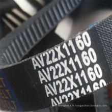 Courroie trapézoïdale crantée classique à bord brut (AV13X1500)