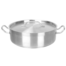 Stainless Steel Compound Bottom Sauce Pots