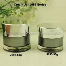 30ml 50ml acrylique pot de crème cosmétique emballage Jar