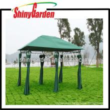 Outdoor Deluxe Steel Garden steel gazebo iron