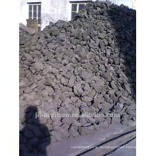 Kohlenstoffanodenkolben für die Kupferschmelze