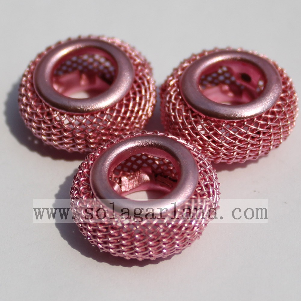Wholesale Big Hole European Metal Beads