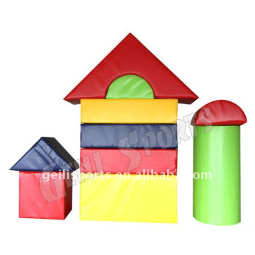 Edificio per bambini Soft Play Foam Blocks per bambini