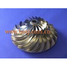 S300 Turbo Billet Compressor Roue 316538 Impeller Blade 174424 Fit Turbo / Chra 318974/316536/316524/316582/316637 Mercedes Singpore