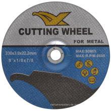 9 '' Winkelschleifer En12413 Resin Abrasive Trennscheiben für Metall