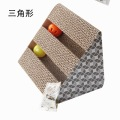 Corrugated Paper Cat Toy with ball bell