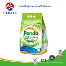 Empaquetado de polvo de lavado
