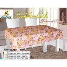 Scallop Edge Tablecloth with Non Woven Backing