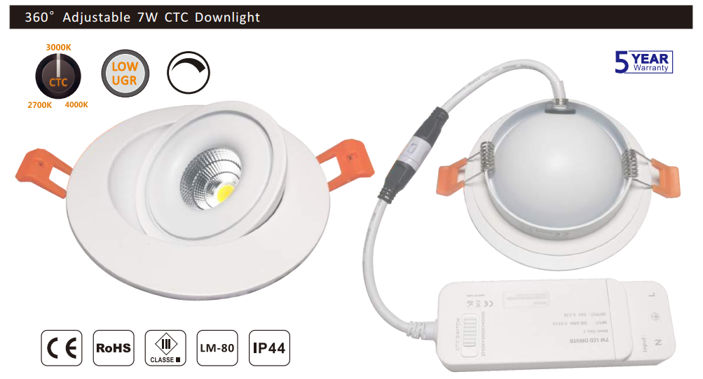 smart led downlight advantages