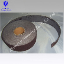 """1.5""""x50 yards narrow soft abrasive cloth roll used by hand"""