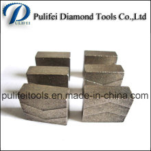 High Frequency Welding Hard Rock Cutting Tools Diamond Segment