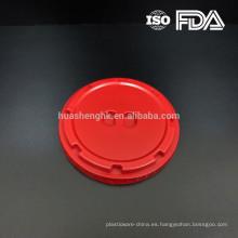 Tapa de alta calidad de 120 mm de plástico para tazón de delicatessen
